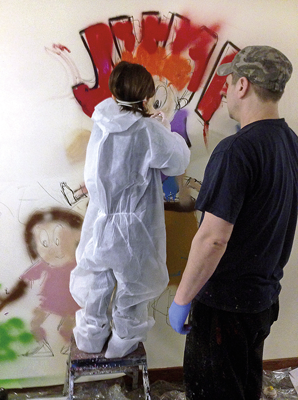 Wandering Arts - Graffiti workshops and permanent artworks for you school or community, Norwich & Norfolk.