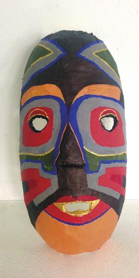 Wandering Arts - Student mask making project, Norwich & Norfolk.